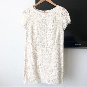Zara Lace Shift Dress XS